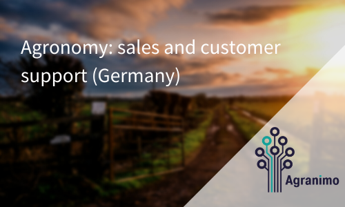 Agronomy: Sales And Customer Support (Germany)